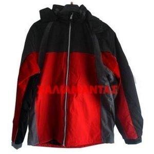 Μπουφάν Κόκκινο-Μαύρο