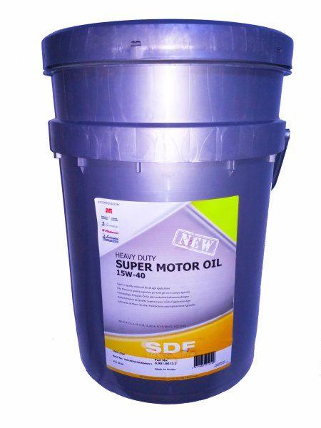 Λιπαντικό Κινητήρος SAE15W40 SUPER OIL 20L SDF