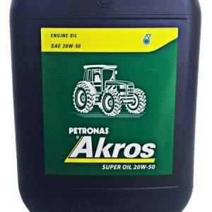 Λιπαντικό Κινητήρος SAE20W50 SUPER OIL 20L AKROS