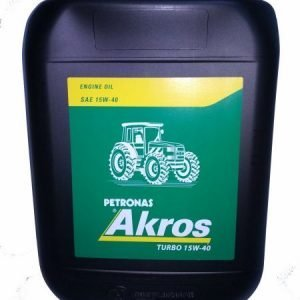 SAE15W40 TURBO ENGINE OIL 20L AKROS