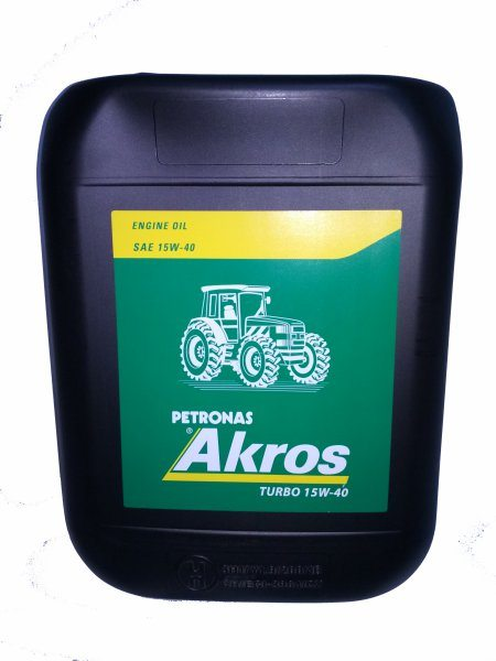 SAE15W40 TURBO ENGINE OIL 20L AKROS
