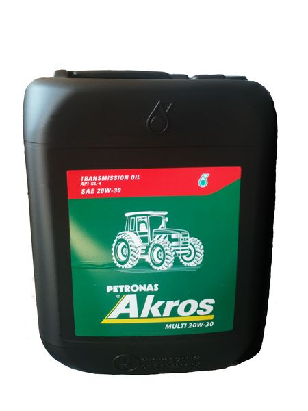 Λιπαντικό SAE20W30 MULTI TRANSMISSION OIL GL-4 20L AKROS